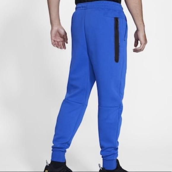 Nike Pants Nike Tech Fleece Joggers Game Royal Blue Poshmark